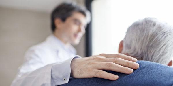 a riesgo de cáncer de próstata