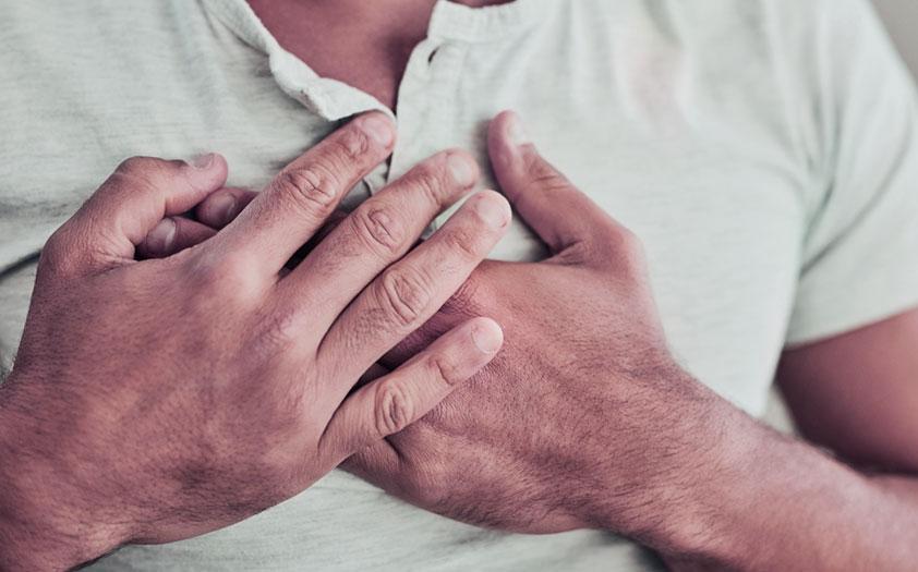 sintomas cancer de pulmon - dolor en el pecho